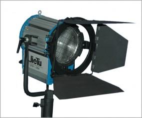 Studio Scheinwerfer Stufenlinse mit Torblende 2000Watt