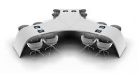 Apple iPad Konferenztisch
