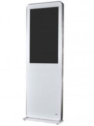 Stele mit 55 Zoll Monitor