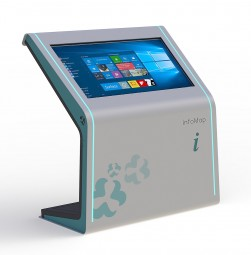 Touchterminal mit 49 Zoll mit 4K Display