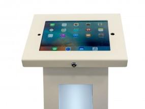 Apple iPad Ständer mit Werbedisplay