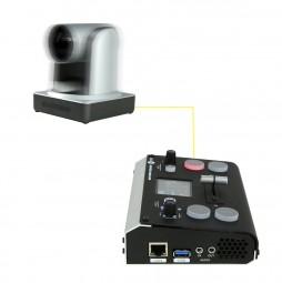 Kamera Set für Online Konferenz mit Bildmischer und Kamerasteuerung