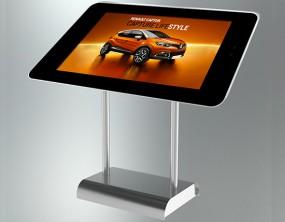 Touchterminal mit 50 Zoll Display