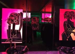 Bildschirm Kunst - Gemälde und Animation - Kunst zum mieten