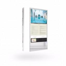 Elektronischer Wegweiser - Glas - Wand Stele