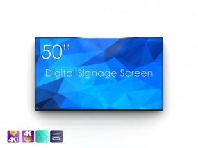 Touchscreen mit 50 Zoll und 4K Auflösung