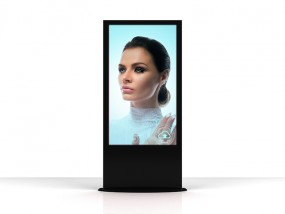 Touch Stele mit 50 Zoll Display