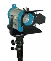 Studio Scheinwerfer Stufenlinse mit Torblende 150Watt