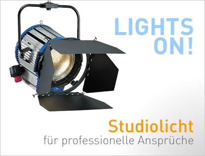 professionelles Studiolicht